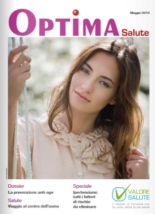 Optima Salute – edizione di Maggio 2019.
